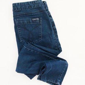 Calvin Klein Dark Wash Skinny Jean Legging